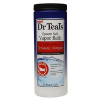 Dr. Teal's Epsom Salt Vapor Bath Tension & Fatigue Eucalyptus & Menthol | Walgreens