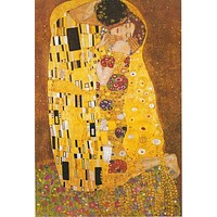 Gustav Klimt The Kiss Poster 24x36