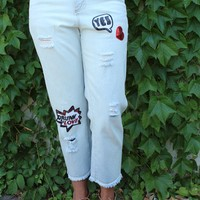 Drunk in Love Jeans by POL Clothing