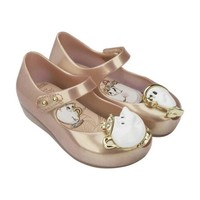Cute Cartoon Character Teacup Non-Slip Baby Girl Jelly Shoes