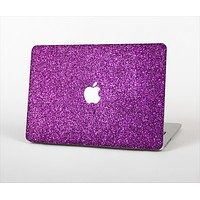 "The Purple Glitter Ultra Metallic Skin Set for the Apple MacBook Pro 13"" with Retina Display"