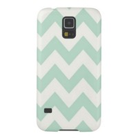 Light Green Chevron Samsung Galaxy S5 Case