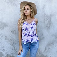 So Much Love Floral Print Top