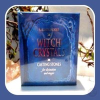 Witch Crystals Casting Stones Tarot Set