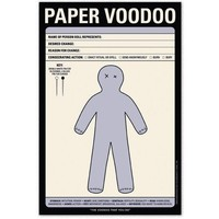 Paper Voodoo Note Pad - Whimsical & Unique Gift Ideas for the Coolest Gift Givers