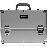 Essential Pro Makeup Train Case with Shoulder Strap and Locks