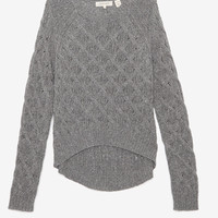 Inhabit Quilted Knit Cascade Sweater-SWEATER WEATHER-TREND ALERT!-What To Wear-Categories- IntermixOnline.com