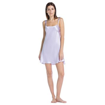 Women's 100% Mulberry Silk Chemise