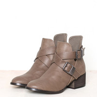 Bronco Buckle Bootie