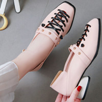 Hot style hot selling shallow mouth low heel casual shoes women