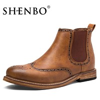 New Arrival Fashion Chelsea Boots, Designer Men Ankle Boots,  Men Autumn Boots