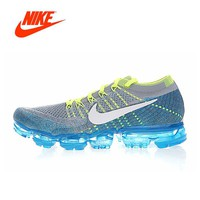 Original New Arrival Authentic Nike Air Vapormax Flyknit Men's Running Shoes Sport Outdoor Sneakers Breathable 849558-009