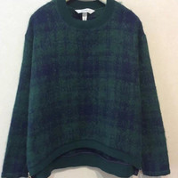 Algae Green Long Sleeve Sweater