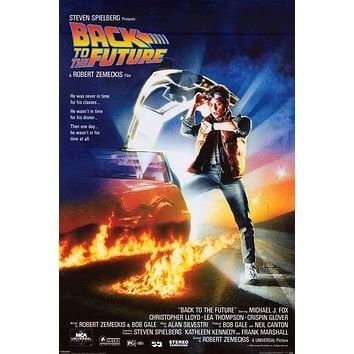 Back to the Future Movie Poster 24x36