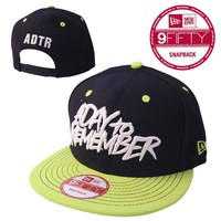 A Day To Remember: Black And Green Logo New Era Hat