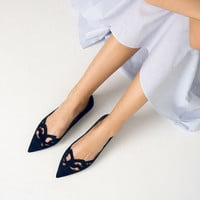LASER - CUT LEATHER BALLET FLATS-View all-SHOES-WOMAN | ZARA Canada