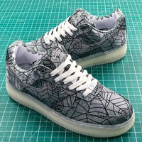 Clot X Nike Air Force 1 Hydro Dipped Sport Shoes - Best Online Sale