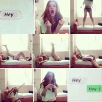 Twitwhen your crush texted you