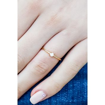 What I Want Ring - Gold