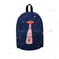 UFO Canvas Backpack
