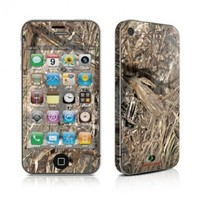 Duck Blind Design Protective Decal Skin Sticker (High Gloss Coating) for Apple iPhone 4 / 4S 16GB 32GB 64GB