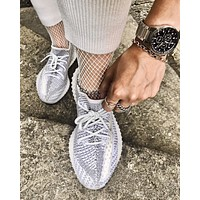 ADIDAS YEEZY BOOST 350 V2 Yeshaya mesh breathable sneakers shoes