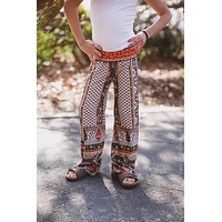 Kid's Tribal Printed Palazzo Pants