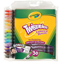 Twistables® Colored Pencils w/ Pouch – 30ct.