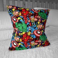Marvel Avengers Pillow Cushion Cover 18""