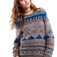 Erika Hand Knitted sweater