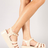 Emma Jelly Wedge Sandals