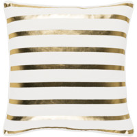 Holiday Pillow IV ~ Gold