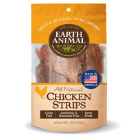 Earth Animal Plain Chicken Strips Dog Treat 10oz