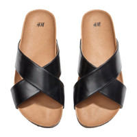 Slip-on Sandals - from H&M