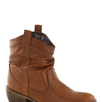 Ooh La Lasso Boot in Brown | Mod Retro Vintage Boots | ModCloth.com