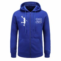 BAIJOE autumn New Mens Hoodies Long Sleeve Hoodie Funny Handball print Sweatshirt Men Casual zipper Hoody Jacket free delivery