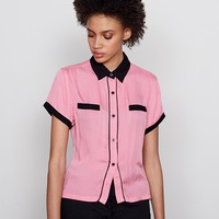 Lazy Oaf Bad Luck Greaser Shirt - Shirts - Categories - Womens