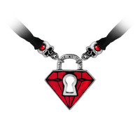 Alchemy Gothic Unlock My Heart Pendant Necklace
