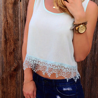 Key West Crop Top - FINAL SALE