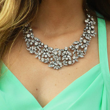 Only Star I See Necklace: Silver