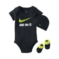 The Nike Just Do It Three-Piece Infant Boys' Set.