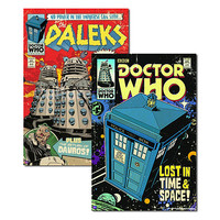 Doctor Who Comic Posters
