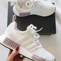 Adidas NMD BOOST Trending Women Breathable Running Sport Shoes Sneakers