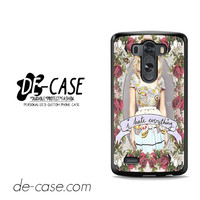 Marina And The Diamonds I Hate Everything For LG G3 Case Phone Case Gift Present YO