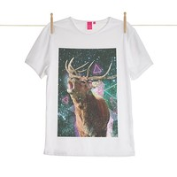 Quirky Illustrated Gifts   Sky Mellow Grace Mens T-shirt   Kris Tate   New   Mens   Apparel   Ohh Deer