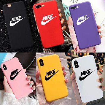Phone Case, Protective Case for iPhone 7,8,7P,8P,X,XS,XS Max,XR,11,11pro,12,12Pro,12Pro Max Nike (iPhone 8, Multicolor)
