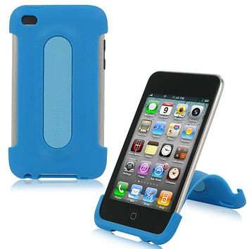 XtremeMac iPod Touch 4G Snap Stand - Peacock Blue