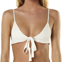 BEACH RIOT X STONE COLD FOX CARLO SEPARATE TOP - WHITE