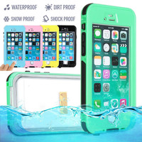 """Waterproof Case For Apple iPhone 6 6S 4.7"""" / 6 6S Plus 5.5"""" Life Water proof case Shockproof Dirt Proof Protective Phone Cases"""
