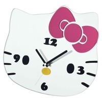 Hello Kitty Decorative Clock